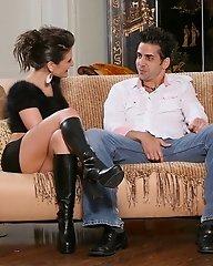 Austin Kincaid shares a cock her her girl friend